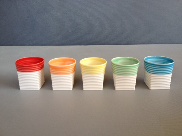 Sarah Backler | Espresso colours,  red, white, green, blue, yellow, no orange availalbe currently