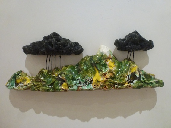 Madeleine Child | Rain in the Hills | Double Rain Cloud | McAtamney Gallery | Geraldine NZ