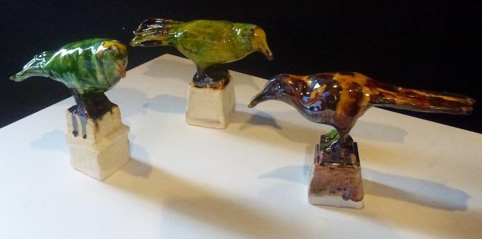 Madeleine Child | Ceramic |Birds  | McATamney Gallery | Geraldine NZ