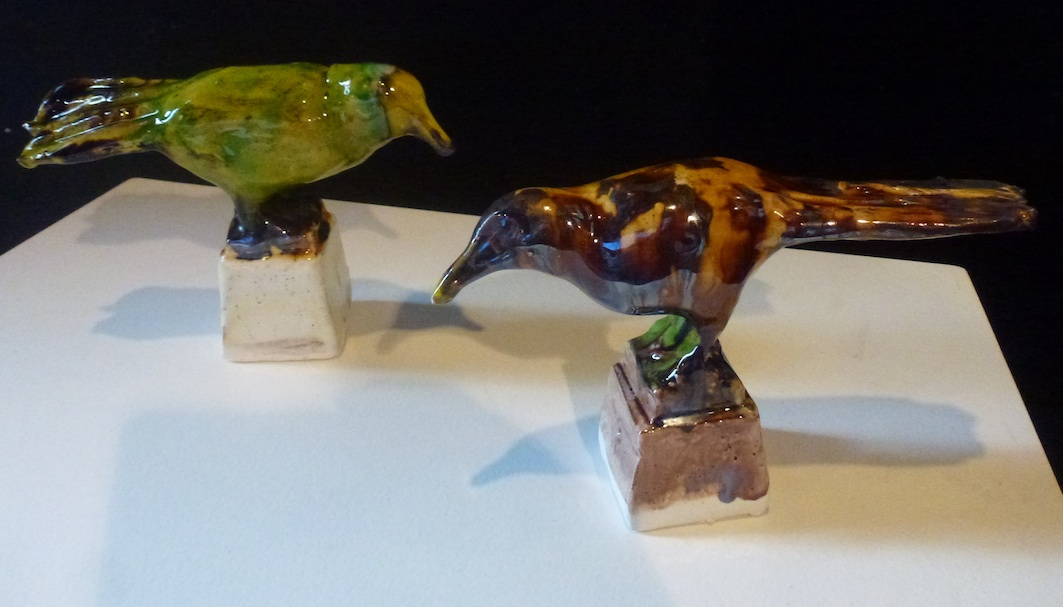Madeleine Child | Ceramic | Birds | McAtamney Gallery | Geraldine NZ