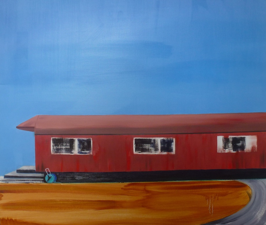 Virginia Burdon | Old Railway Carriage  | McATamney Gallery | Geraldine NZ
