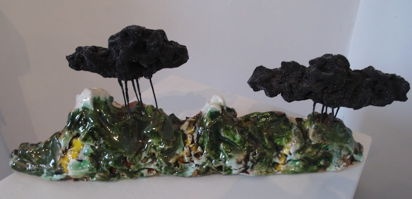 Madeleine Child | Double Rain Cloud | Ceramic | McATamney Gallery | Geraldine NZ