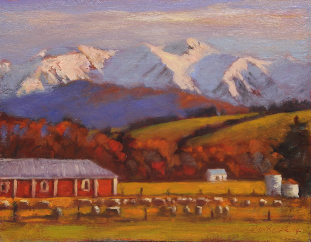 Philip Beadle| Homebush and Mt Hutt | McATamney Gallery | Geraldine NZ