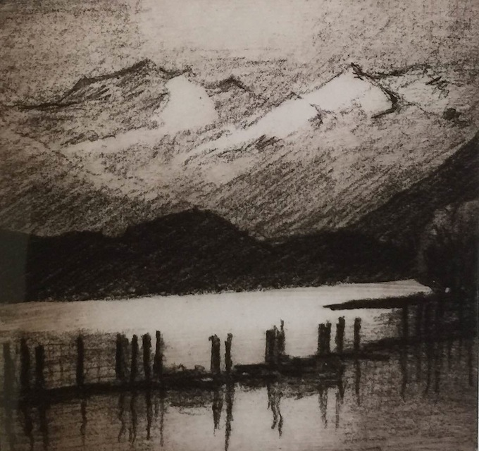 Philip Beadle | Lake Front Wanaka | McAtamney Gallery and Design Store | Geraldine NZ
