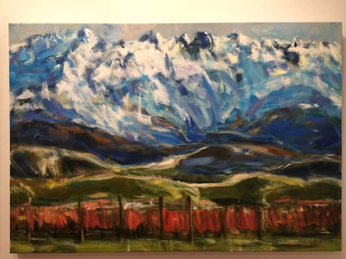 Nigel Wilson  Landscape 2. McAtamney Gallery and Design Store.  | Geraldine NZ