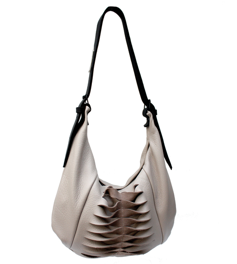 Kate of Arcadia | Gil SLing Taupe 2  Bag| McAtamney Gallery | Geraldine NZ