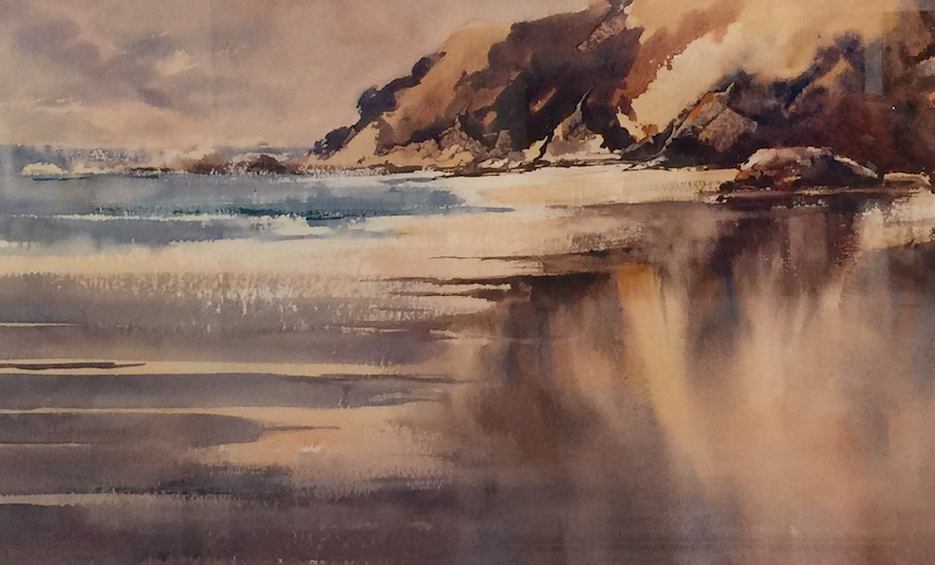 Bernadette Parson | Beach  in Waikato| McAtamney Gallery and Design Store | Geraldine NZ