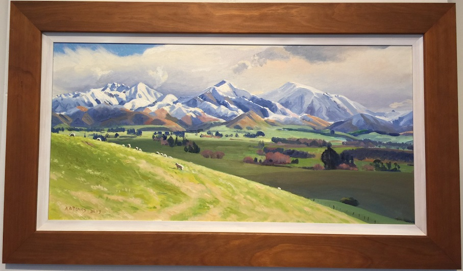 AA Deans |   Four Peaks Geraldine |  Framed  | McATamney Gallery and Design Store | Geraldine NZ
