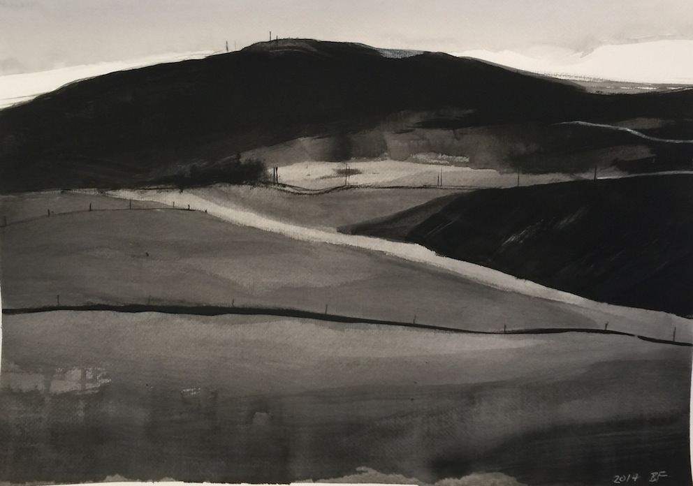 Brent-Forbes|Foothills. | Works on Paper  | McAtamney Gallery and Design Store | Geraldine NZ