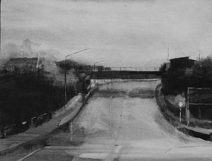 Brent Forbes | OverPass | acrylic | McATamney Gallery and Design Store | Geraldine NZ