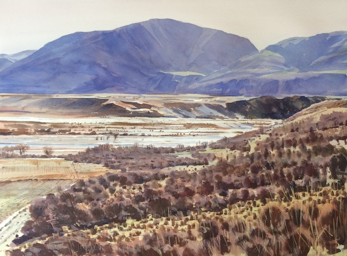 Richard Bolton | Across the Rangitata | McAtamney Gallery and Design Store | Geraldine NZ