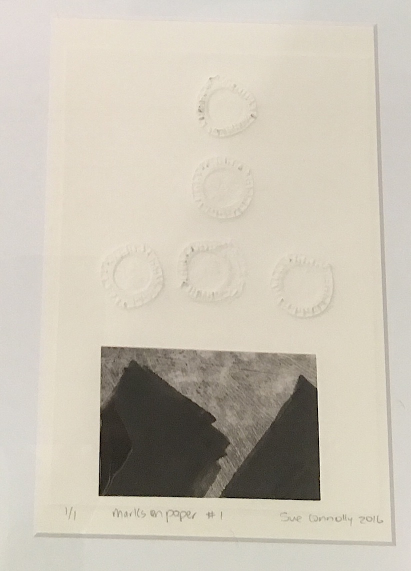 Sue Connolly| Marks on Paper #1 Embossing and Monoprint | McAtamney Gallery and Design Store | Geraldine NZ