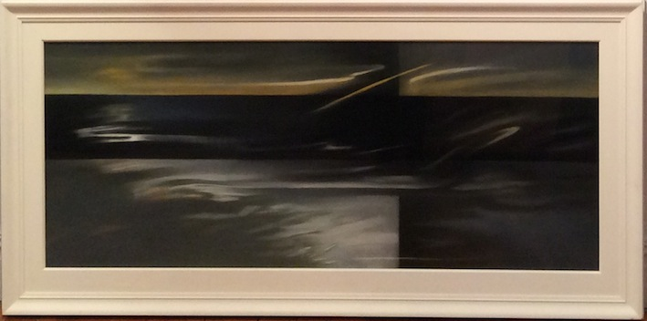 Claire Beynon Tuning I  I2003 Pastel on Paper  Framed Size 87 x 175  Unf 62 x 150cm $7,200 fb   copy.jpeg