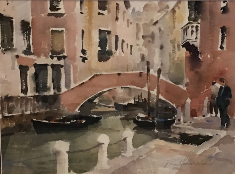 Paul Hanrahan   | Venice | watercolour | McAtamney Gallery and Design Store | Geraldine NZ