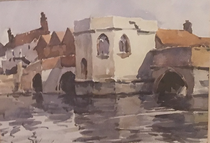 Paul Hanrahan |St Ives| watercolour|  McAtamney Gallery and Design Store | Geraldine NZ