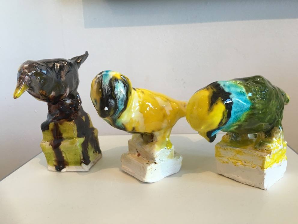 Madeleine Child |birds   ceramic |McAtamney Gallery and Design Store | Geraldine NZ