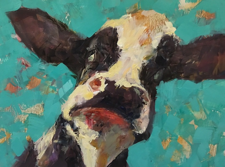 Grant Finch|  Cow 2| McAtamney Gallery and Design Store | Geraldine NZ