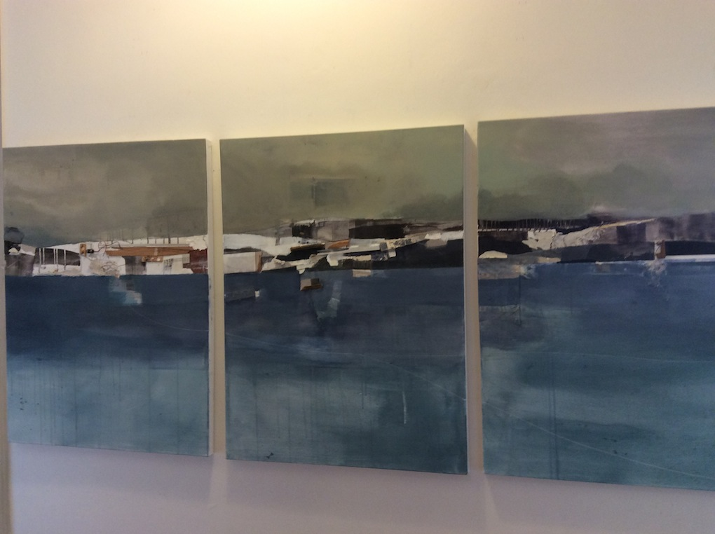 Brent Forbes | Untitled Triptych | Mixed Media | McAtamney Gallery and Design Store | Geraldine NZ