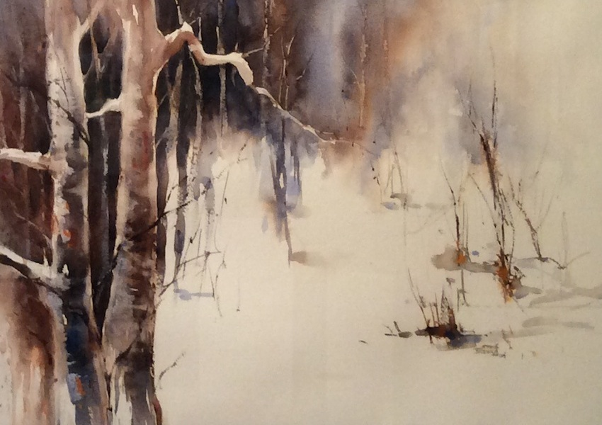 Bernadette Parsons| Last Light Trees |McAtamney Gallery and Design Store | Geraldine NZ