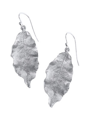 Debra Fallowfield  |BABY PITTOSPORUM EARRINGS |Sterling Silver| McAtamney Gallery and Design Store | Geraldine NZ