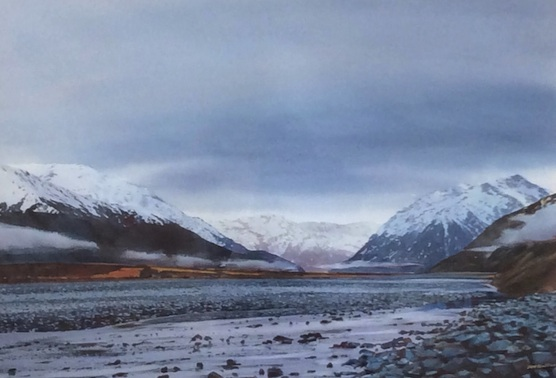 Richard Bolton|  Arthurs Pass | McAtamney Gallery and Design store | Geraldine NZ