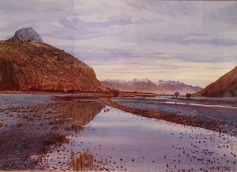 Richard Bolton  Rangitata Reflection watercolour wb   .jpg
