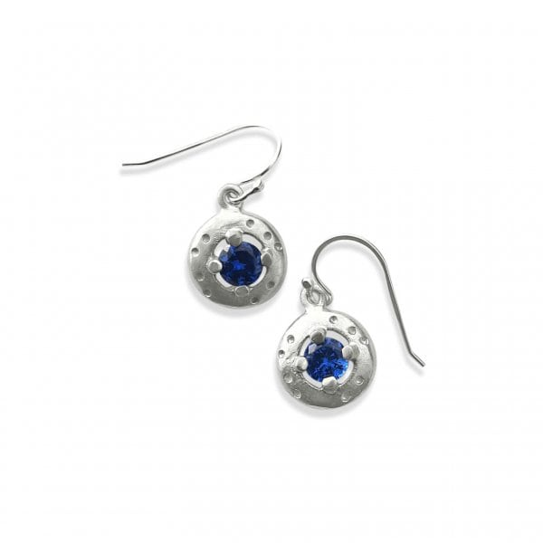 Debra Fallowfield |Blue Spinel Earrings | McAtamney Gallery and Design Store | Geraldine NZ