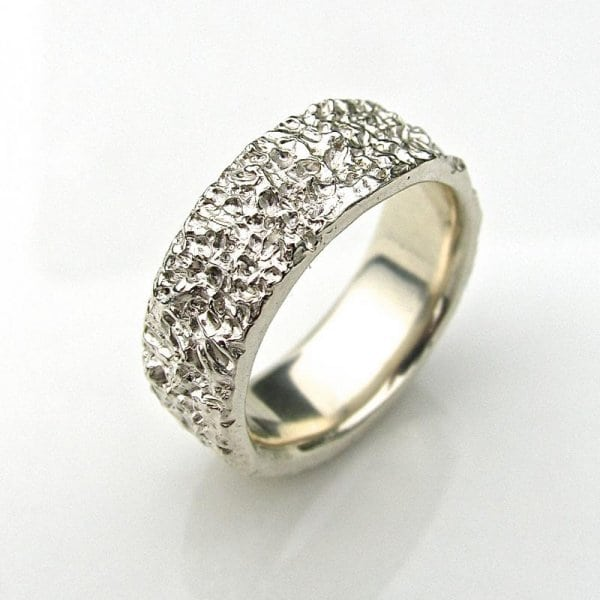 Debra Fallowfield | Mens Wide atlantis ring .| McAtamney Gallery and Design Store | Geraldine NZ