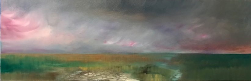 Amy Hoedemakers | Softly, Walk These Lands | oil | McAtamney Gallery and Design Store | Geraldine NZ
