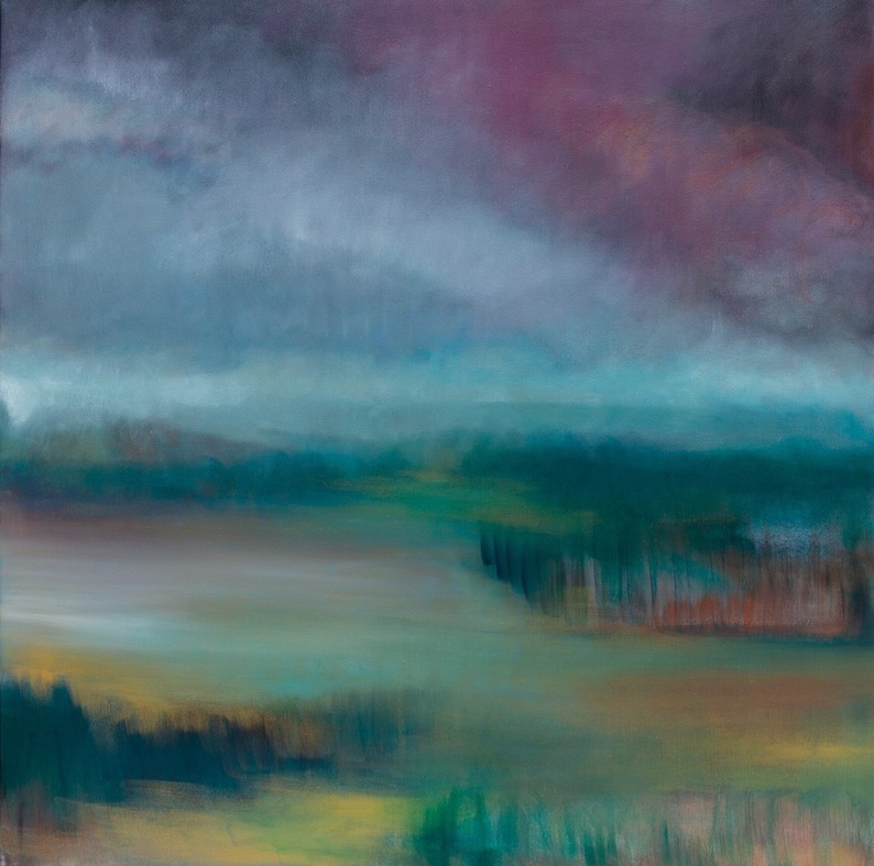 Amy Hoedemakers | Homeward  | oil | McAtamney Gallery and Design Store | Geraldine NZ