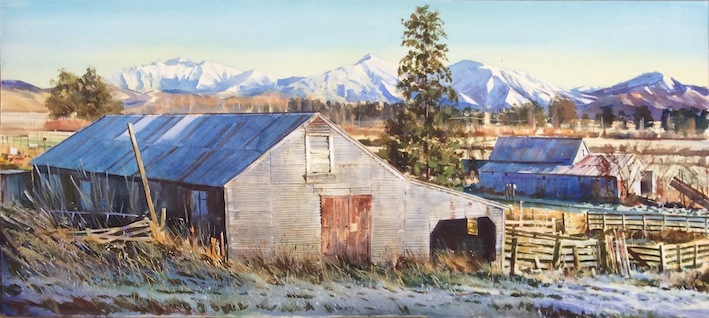 Richard Bolton|  Fourpeaks  | from Serceombers Road | Geraldine NZ