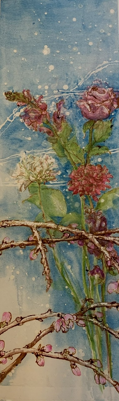 Julie Dunham | Winter Flowers | McAtamney Gallery and Design Store | Geraldine NZ